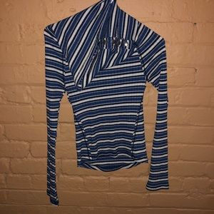Free People | Long Sleeve Striped Shirt